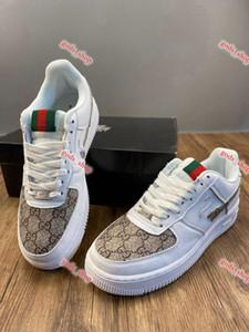 GUCCI Nike AIR FORCE 1 shoes حذاء المشي xshfbcl كلاسيكي NO.1 الهواء الرجال حذاء رياضة مدرب متعطل عارضة في الهواء الطلق تشغيل أحذية للجنسين Zapatos Zapatillas الأحذية الرياضية
