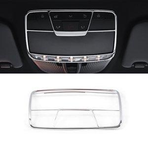 Acessórios Car Frente Light Reading Lamp Chrome guarnição adesivo cobrir Decoração Quadro para a Mercedes-Benz E-Class W213 2016-2020