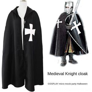 في العصور الوسطى خدمة محارب الأدوار خدمة اللعب عباءة اللعب دعوى بالادين عباءة رداء الإمبراطورية الرومانية cosplaywear