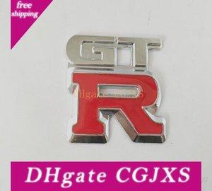 Alta qualità Gtr metallo cromo dell'automobile 3D emblema distintivo Sticker Car Gtr metallo Sticker Car Styling Insignia Gtr spedizione gratuita