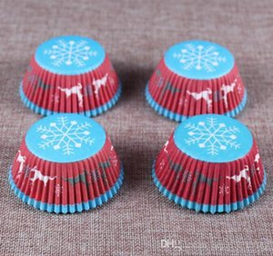 HOT 100PCS Muffins Paper Cupcake Wrappers Baking Cups Cases Muffin Boxes Cake Cup Decorating Tools Kitchen Cake Tools DIY 010