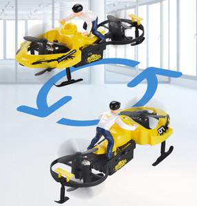 Vier Achsen RC Car Spielzeug Modell F7 Snowmobile 2.4G Fernbedienung Vechile LED RC Drone Quadcopter RTF Für Jungen-Kind-Geschenk 03