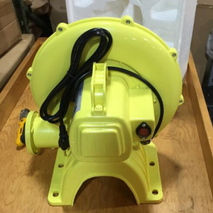 Plastic Shell electric Air Blower Pump Fan Commercial for Inflatable Bouncer arches tents and replica balloons