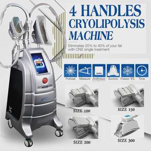 Upgraded New Machine Etg50-4S Freeze Fat Body Slimming 4 Handle Cryolipolysis Machine Hot Sell Fat Reduction