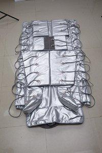 16pcs coussins d'air 3 dans une pression d'air mesure la lumière infrarouge sauna couverture d'équipement de drainage lymphatique de pressothérapie