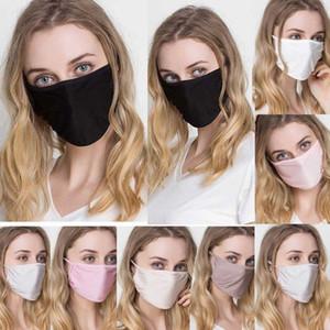 Kadınlar İpek Yeniden kullanılabilir Maskesi Filtresi PM2.5 Hava Filtrasyon Maskesi