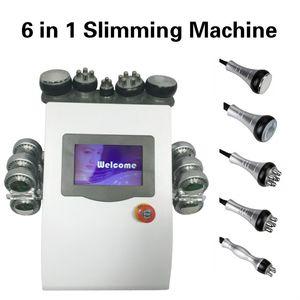 2020 Tratamiento láser de alta calidad 6 en 1 Lipolaser Máquina de cavitación ultrasónica de Peso Reducir la máquina de la belleza envío rápido libre