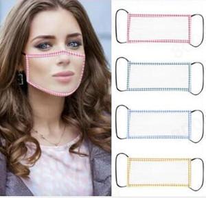 투명 립 투명 얼굴 쉴드면이 농아 디자이너 마스크 보이는 안티 먼지 입 얼굴 커버 GGA3558-3 마스크 안티 - 안개 마스크