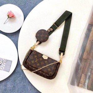 2019 New Fashion Shoulder Bags Chain Men's and Women's Classic Handbags PU High Quality Crossbody Bags Hot Sale 1A130