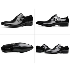 Fashion Classic Men Business Shoes Genuine Leather Casual Shoes Men Oxfords Leather Shoes Tassel Male Black Classic Footwear