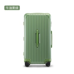 2020 new large-capacity 26-inch trolley luggage password suitcase travel lightweight universal wheel suitcase