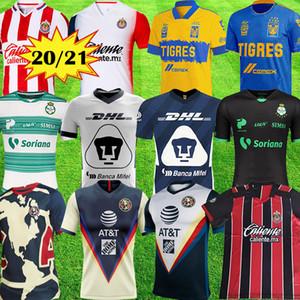 2021 İlkbahar LIGA MX Club America Soccer Formalar 20 21 UNAM Guadalajara Chivas Cougar Meksika Tijuana cruz azul Laguna futbol forması atlası