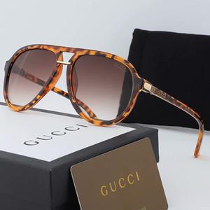 Gucci Herren-Designer-Sonnenbrille Frauen Designer übergroßen Männer des lunettes de soleil Sonnenbrille Flieger polarisierte Katzenauge TZ1-Brille