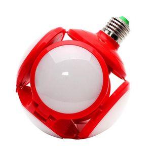LED-Birnen E27 AC85-265V 40W 5 Blatt 120leds Folding Fußball UFO-Birne 360 Grad Hohe Helligkeit Beleuchtung für Bar Halle Deckenleuchten DHL