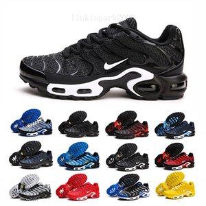 2019 Newest Men Zapatillas TN Designers Sneakers Chaussures Homme Men Basketball Shoes Mens Mercurial TN Running Shoes Eur40-46 NB2D