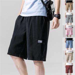 Mens-Sommer-Hot Neueste beiläufige Kurzschlüsse lose Baumwoll Fashion Street Shorts Sommer-Strand-Hosen Plus Size