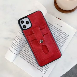 Magnet Phone Case For Samsung S20 Plus Ultra Soft TPU PU Leather Wallet Case Luxury Back Cover with Credit Card Slots for iPhone