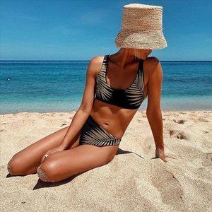 2020 New Leaf bikini del modello del costume da bagno del vestito del Beachwear dello Swimwear femminile Biquni trasporto di goccia di buona qualità