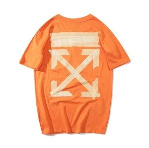 Die neuen 2020 Offwhite Paare Printed Kurzarm-T-Shirt ist eine lässige und einfache Street-Style T-Shirt für Männer und Frauen sac