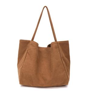 ABER Женщины Большой Холст хозяйственная сумка Многоразовый Soild Extra Large Tote Бакалея сумка Eco Environmental Shopper плечо Сумки для молодой девушки