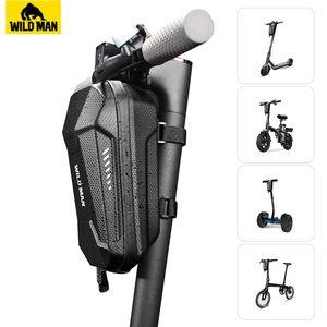 WILD MAN Regendicht Multifunktionale Folding Bike Bag Fahrrad-Lenkertasche Radtaschen Hartschaumschle vorne Radfahren Tasche Zubehör MX200717