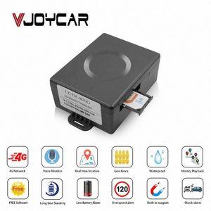4G LTE GPS-Auto-Verfolger Mini Größe Fahrzeug Locator starker Magnet Asset-GPS Tracker 6000mAh Batterie Sprachmonitor Vibrationsalarm PMGS #
