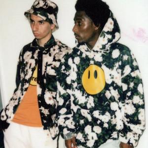 Hip 20SS Rose Impreso con capucha calle llena la camiseta de manga larga Hop moda jersey Hombres Mujeres Parejas sudaderas con capucha suéter HFYMWY438