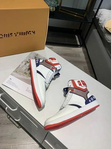 New brand basketball shoes brand appearance leather sports shoes leisure shoes luxury designer outdoor sports soft sole comfortable shoes8-1