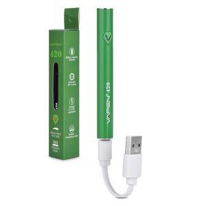 Adjustable Voltage Vape Pen Preheat VV 420mAh Vapen 420 Vape Battery with USB Charger For 510 Thick Oil Cartridge Tank
