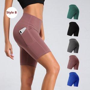 Женщины Энергия высокой талией Йога Шорты Бесшовная Push Up Hip Gym шорты Фитнес Спорт гетры Nepoagym Короткие штаны до колен