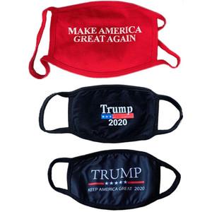 Designer face mask cover vote adult usa Trump cotton mask adult dustproof washable breathable soft cross-border cartoon printed cloth mask