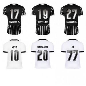 홈 떨어져 2020 전서 아이 키트 camisas 드 Futebol 팀 재슨 로날도 소모사 CLAYSON JANDERSON 축구 셔츠 축구 유니폼