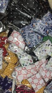 Designer Durag Stirnband Piratenhut Bandanas für Männer und Frauen Viele Designs Silky Durags Du-Rag Bandana Headwraps Hip Hop Caps Leiter Wraps 002