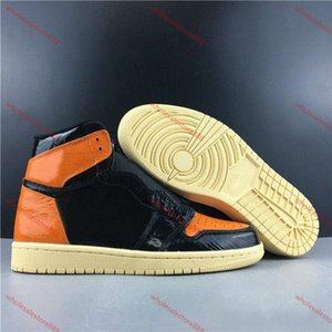 xshfbcl 2020 New 1 1s High Top 3 Shattered OG Bred Toe Banned Game Royal Shoes Men 1s Shadow Sneakers High Quality