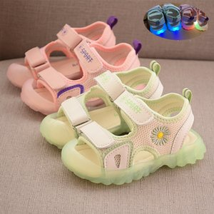 Children Sandals Girls 2020 Summer New Boys White Shoes Breathable Mesh Shoes Kids Casual Coconut Shoes for Baby Toddler Sandals