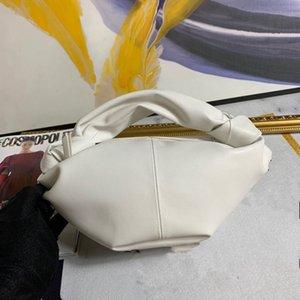 Ins mesma forma vermelha líquida quente super versátil pequena 2020 bolsa nova da mulher coreana um ombro boi portátil saco chifre saco nuvem