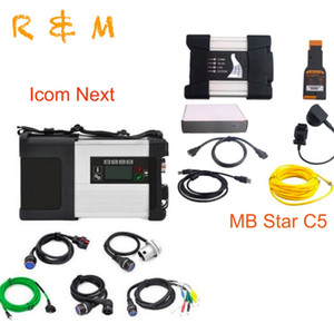 2020 MB estrela c5 ICOM próxima estrela wi-fi diagnóstico C5 icom a2 próxima scanner de um mb icome Diagnostic Scanner frete grátis