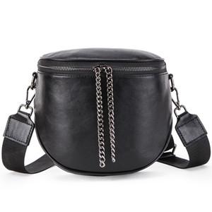 Multifunzionale vacchetta borse delle donne comoda cuffia Leather Pocket