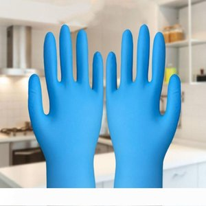 New Home Elastic disposable blue gloves environmental protection work gloves household wear-resistant Cleaning Gloves T3I5703