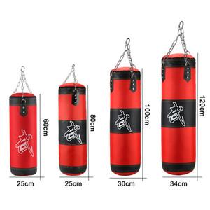 Punzonatura Sand professionale Boxing sacco da boxe Fitness Training con appesi calcio Sabbia adulti di esercitazione di ginnastica svuotare-Heavy boxe