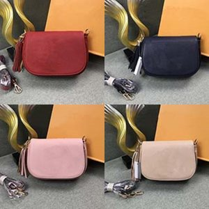 Candy Color Vintage Buckle Women Genuine Leather Purses And Handbags Shoulder Chain Bag Female Bag Totes Clutch#264