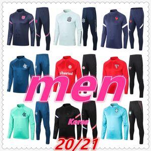france brazil netherlands italy korea germany spain argentina england cruzeiro mens designer tracksuits 2020 2021 soccer tracksuit football training suit jacket