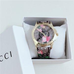 2020 Luxury Damen Marken-Quarz-Uhren Mens-Sport-Uhr Frau Mode-Gummibügel-Mädchen-Uhr Montre mit dem Kasten