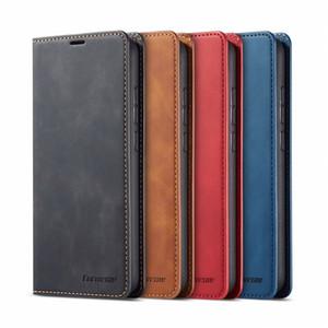 Luxe Magnetic Wallet Flip en cuir pour Xiaomi redmi Note 7 8 9 Pro Max 9S Couverture arrière