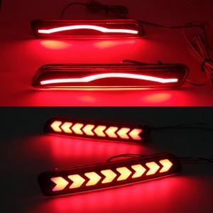 1 pares LED Reflector Reflector Luces de freno de parachoques trasero Lámpara de cola de freno para Suzuki Ertiga CIAZ VITARA S-CROSS SX4 SPLASH