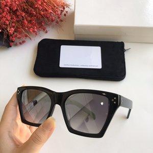 2020 الأحدث CE400901 للجنسين النظارات الشمسية UV400 الأزياء الأوروبية صباحا PUE بندا شبه منحرف الشكل design55-18-145with fullset FREESHIPPING التعبئة