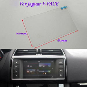 Internal Accessories 8 inch Car GPS Navigation Screen HD Glass Protective Film For Jaguar F-PACE