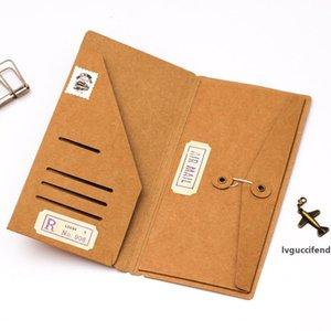 Notebook atacado- Filler Papers viajante s Kraft Pocker Cartão de visita de papel Pasta Titular de arquivo
