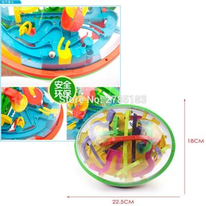 299 level 23cm Biger 3D Magic Maze perplexus magical intellect Ball educational Marble Puzzle Game IQ Balance toys Y200414