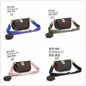 2020 Hot Sale WomenLOUISVUITTON&#1BAGS Chain Shoulder Bags Walet And Handbags Men Wallets Fold Purse Clutch School Bag Q480